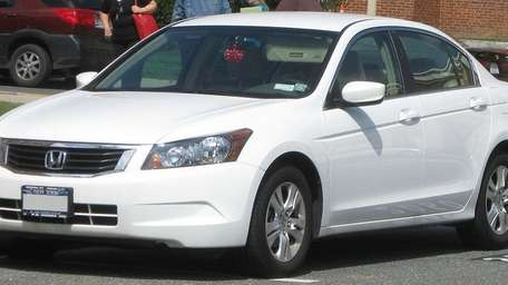A 2009 Honda Accord.