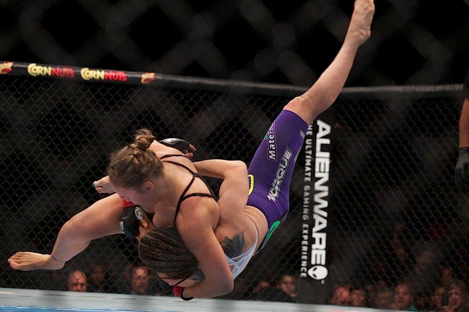 UFC 175: RONDA ROUSEY VS. ALEXIS DAVIS July