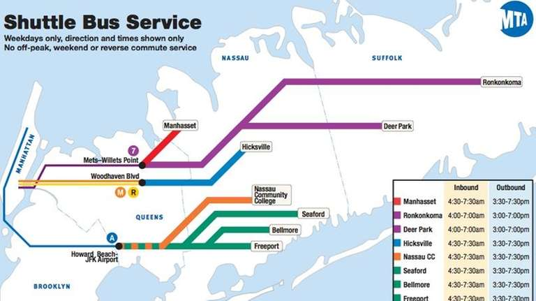 In case of LIRR strike, MTA releases contingency plan: What you need ...