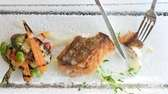 Fishbar restaurant in Montauk serves fresh, pan-seared tilefish