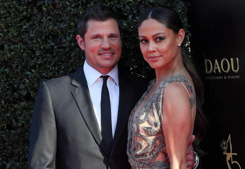 Singer-actor Nick Lachey and TV personality Vanessa Minnillo