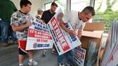 Strike captains met at IBEW Local 589 headquarters