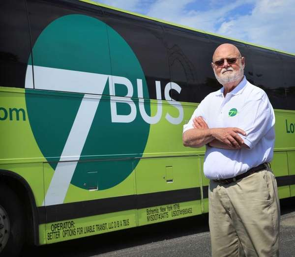 Bill Schoolman, owner and CEO of 7BUS, the
