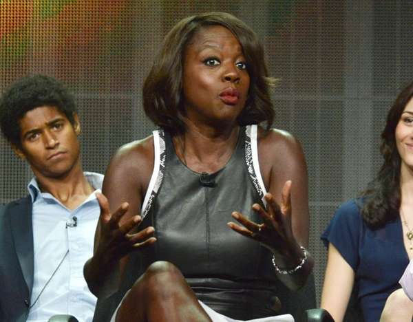 Viola Davis speaks during the