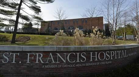 St. Francis Hospital in Roslyn on Dec. 21,