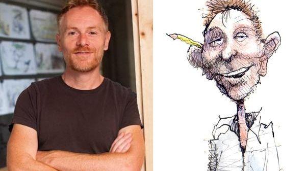 Matt Davies, a Pulitzer Prize-winning editorial cartoonist, author