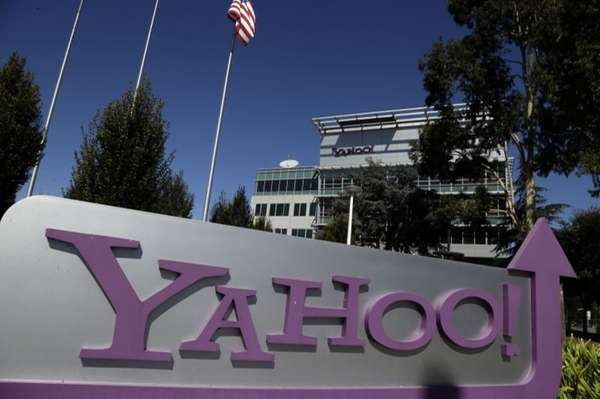 Yahoo! headquarters in Sunnyvale, Calif. on Oct. 17,