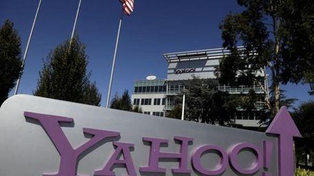 Yahoo! headquarters in Sunnyvale, Calif. on Oct. 17,