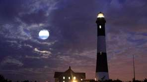 Legend has it when the Fire Island Lighthouse