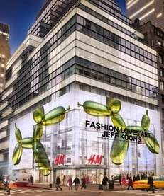 The largest H&M store in the world has
