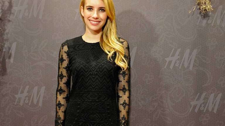 Emma Roberts attends the H&M New Orleans opening