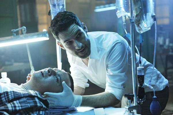 Tom Ellis as Dr. William Rush in the