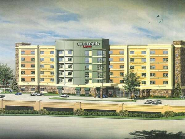 A rendering of the 145-room Courtyard by Marriott