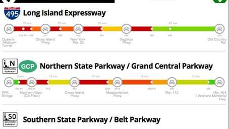 Newsday's new traffic meter will help commuters find