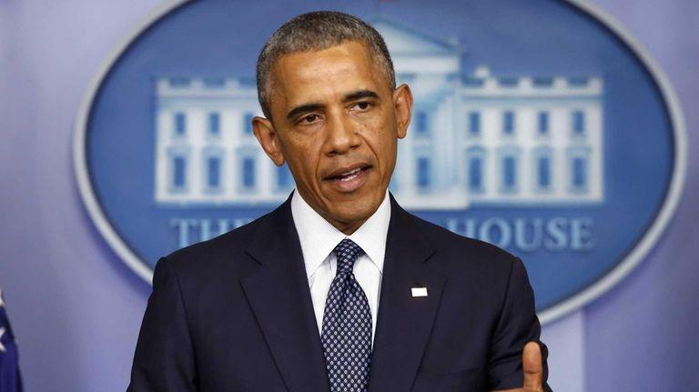 President Barack Obama speaks about the Israel Palestinian