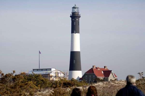 The Fire Island Lighthouse in an undated photo.