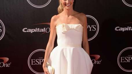 Sports reporter Erin Andrews attends The 2014 ESPYS