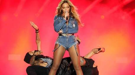 Beyoncé performs on the opening night of the