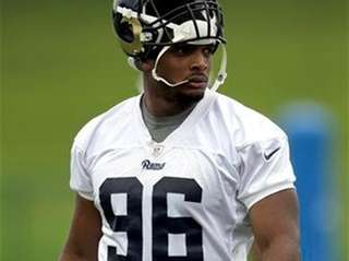 St. Louis Rams rookie defensive end Michael Sam