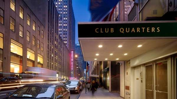 Club Quarters has several Manhattan locations and caters