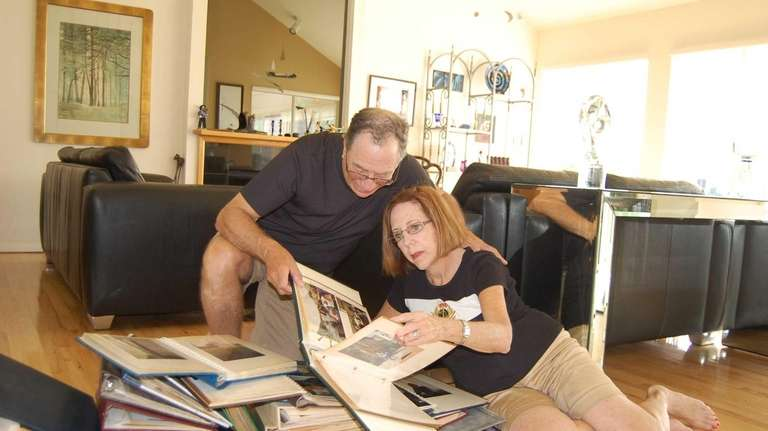 Islip residents Norm Greenspan and his wife, Nina