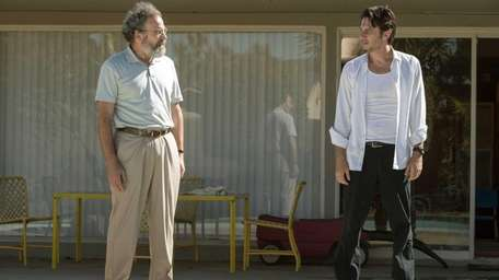 Mandy Patinkin, left, stars as Gabe and Zach