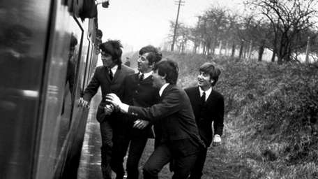 The Beatles in Richard Lester's 1964 film