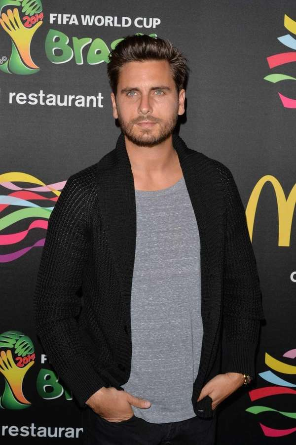 Scott Disick attends the 2014 FIFA World Cup