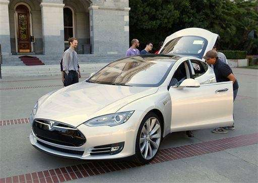 Tesla said its Model S is being considered