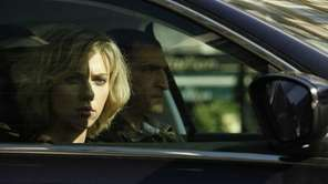 "Scarlett Johansson in the action thriller ""Lucy,"" written"