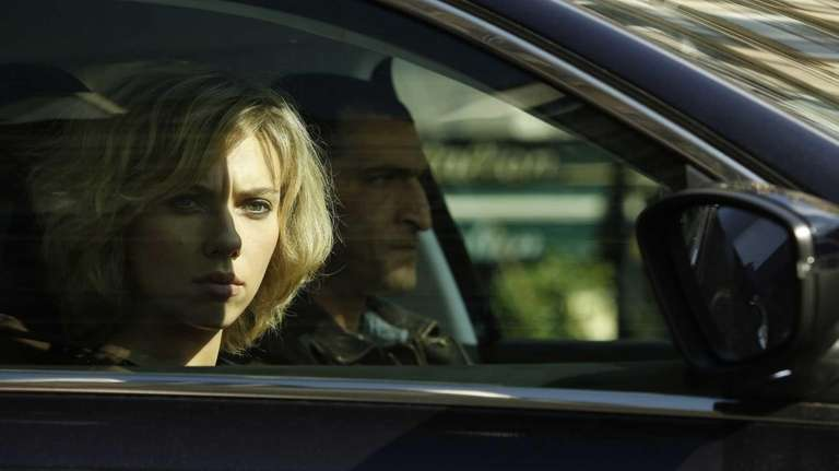 Scarlett Johansson in the action thriller