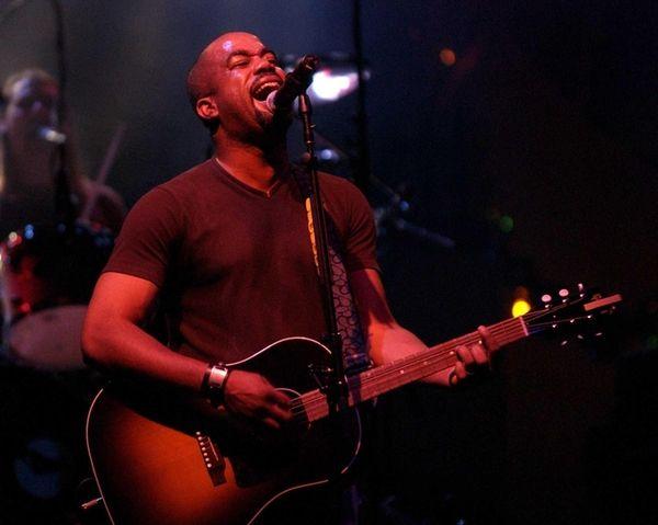 Hootie and the Blowfish lead singer Darius Rucker