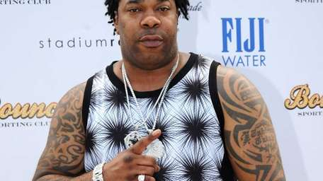 Uniondale native Busta Rhymes attends the World Cup
