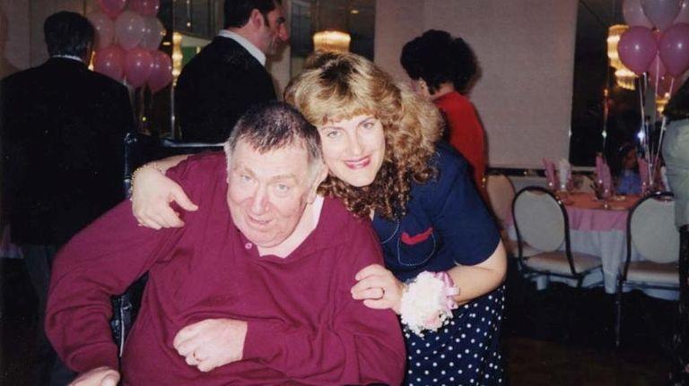 Victoria Anne Reardon Woracek of Malverne with her