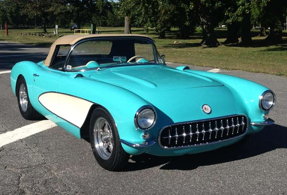 This 1957 Corvette became Tony Pedro's in 2008