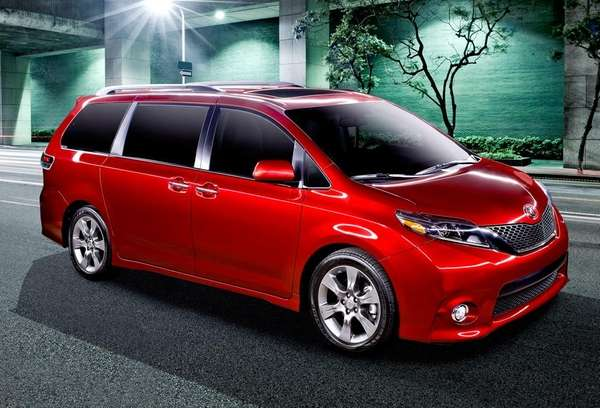 The new Toyota Sienna minivan has a feature