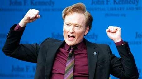 Conan O'Brien discusses his life and the art