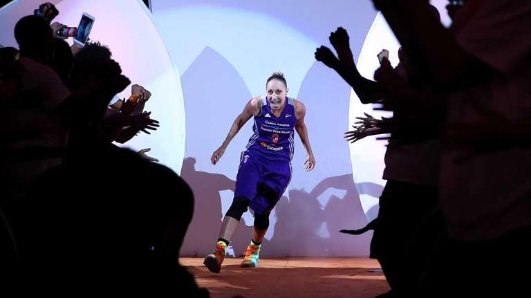 Western Conference All-Star Diana Taurasi, of the Phoenix