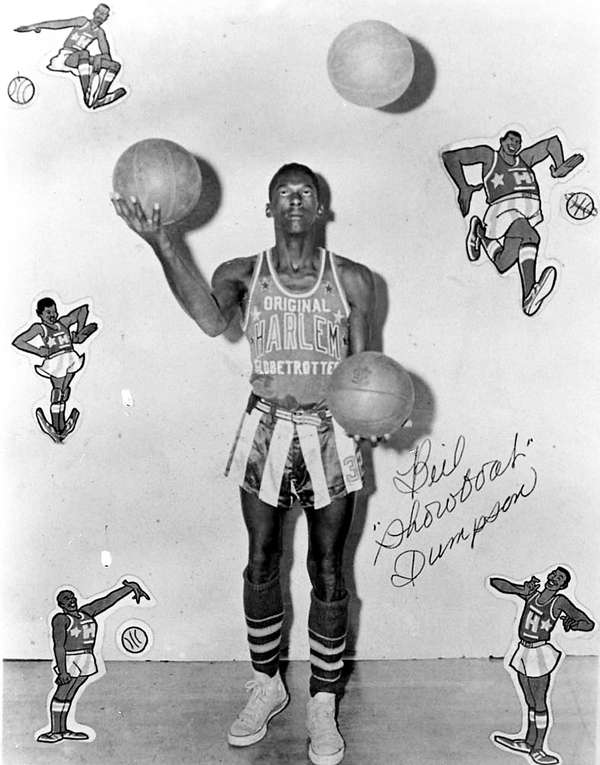 """Bill """"Showboat"""" Dumpson played basketball with the New"""