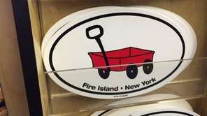 It's a red wagon and it's Fire Island.