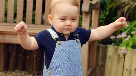 Prince George, who turns 1 on July 22,