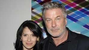 Alec Baldwin and wife Hilaria attend