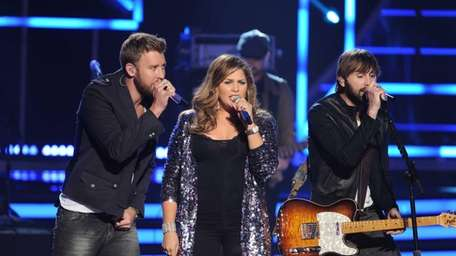 Lady Antebellum perform at the