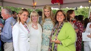 Toni Haber, left, Aniik Libbey, Beth Ostrosky Stern