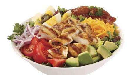Cobb salad from Pudgie's Naked Chicken Co. in