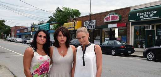 Josephine Abbatiello, Jennifer Ruscillo and Samantha Shea, co-owners