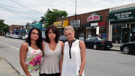 Josephine Abbatiello, Jennifer Ruscillo and Samantha Shea, co-owners