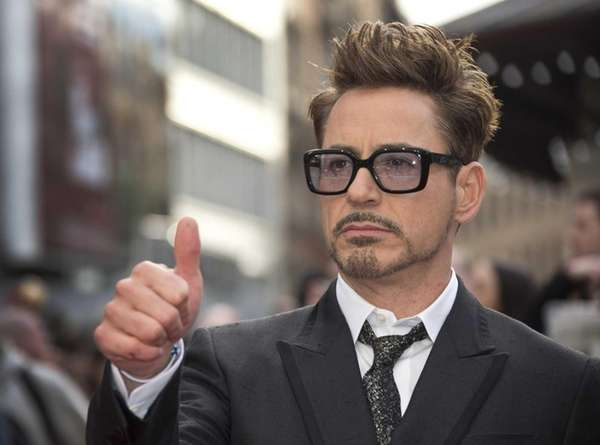 Robert Downey Jr at the UK premiere of