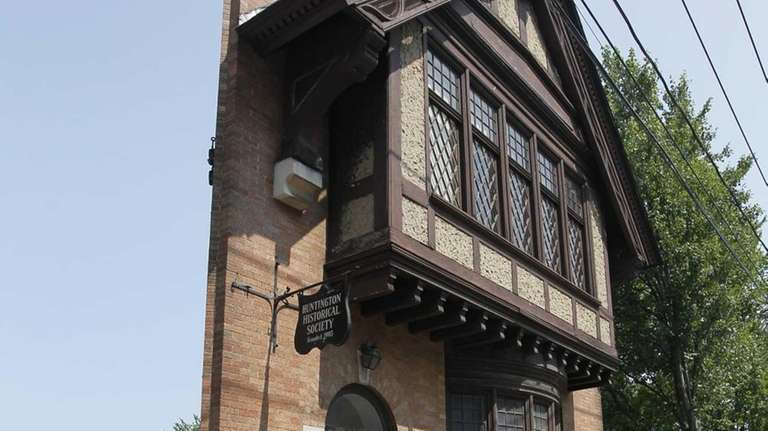 Members of the Huntington Historical Society, along with