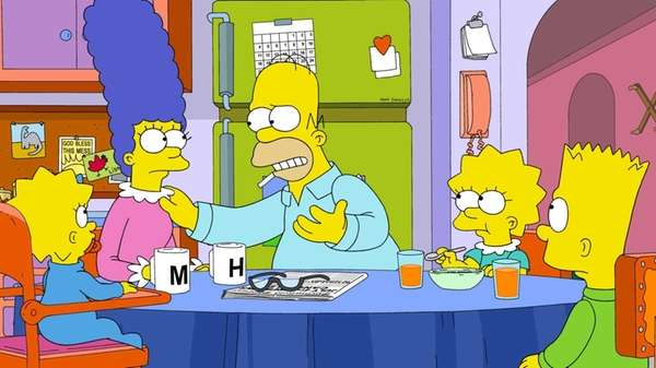 """""""The Simpsons"""" patriarch Homer explains why he wants"""